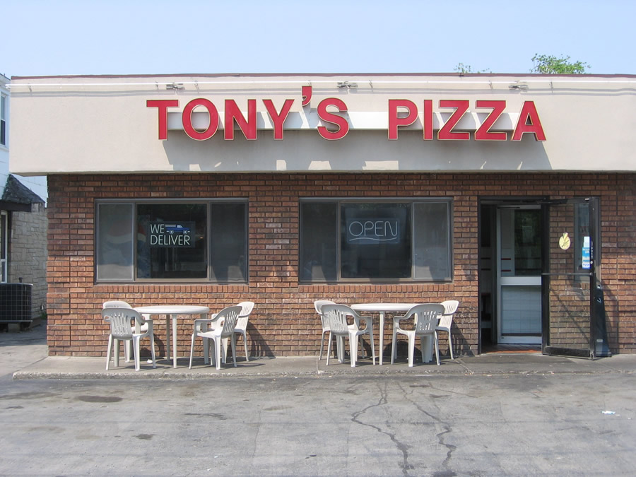 Cheektowaga Pizzeia - Tony's Pizza